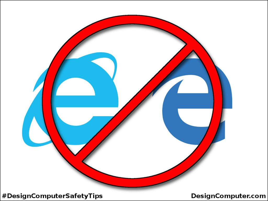 Avoid Microsoft Web Browsers